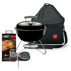 Smokey Joe Portable Charcoal Grill Combo With Carry Bag And Igrill Mini
