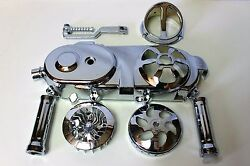 Chinese Scooter Chrome Package 50cc Short Case Engine 8 Bolt Pattern Cvt Cover
