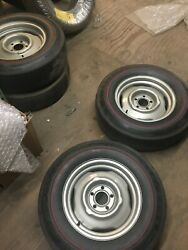 Mopar, Dodge, Plymouth Hemi And A Code Vintage H Code Factory Steel Wheels