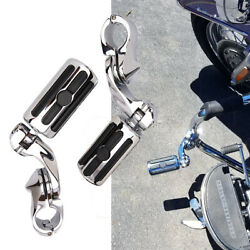 Highway Foot Pegs 1-1/4 Engine Guards Bar Clamps For Harley Sportster 883 1200