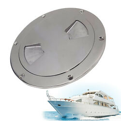 6 Inch Inspection Plate Boat Deck Pull Up Hatch Access Cover Boat Marine Ss316