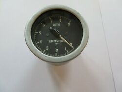 7173 - Good Used Smiths Rev Counter 60 Mm Diameter 0-9000 Rpm