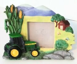 John Deere Tractor Company Photo/ Picture Frame