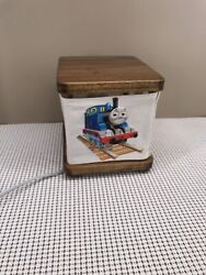 Thomas The Train Night Light Table Lamp Led Bulb Tested And Working. Solid Wood