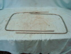 1941 1942 1946 1947 1948 Ford Outside Windshield Chrome Coupe Sedan Convertible