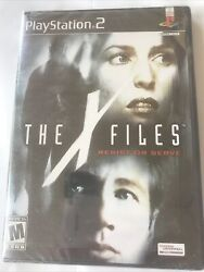 Brand New Rare X-files Resist Or Serve Sony Playstation 2, 2004 Ps2