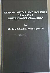 German Pistols And Holsters 1934-1945. Military-police-nsdap, 4 Volume Set