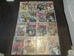 The Punisher X 16 Issue Comic Lot Issues Set Run Marvel Comics