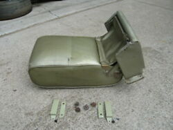 Vintage 1960s 1970s Gm Front Split Bench Seat Arm Rest Cadillac Buick Chevy Olds