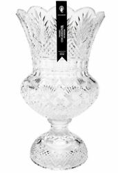 House Of Waterford 50th Anniversary Footed Urn 15.94 40035802 Made Ireland