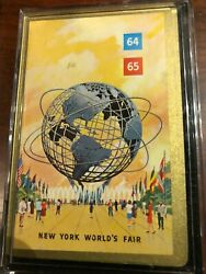 Coca-cola Playing Cards New York Worlds Fair