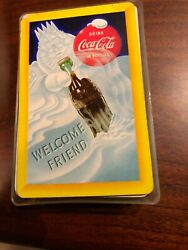 Coca-cola Playing Cards  50's      Welcome Friend