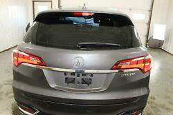 2016-2018 Acura Rdx Lid/gate Trunk Hatch Rear Camera Power Lift Painted Silver