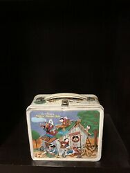 Mickey Mouse Vintage Lunch Boxes Metal