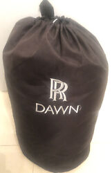Oem Rolls Royce Dawn Indoor Car Cover Genuine Factory W/ Bag And Straps