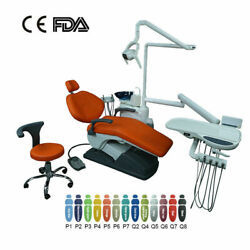 Dental Lab Unit Chair Pu Leather Computer Control With Doctor Stool Tj2688 C3