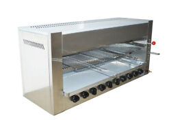 Ten - Head Gas Infrared Heating Oven Barbecue Furnace Broiler
