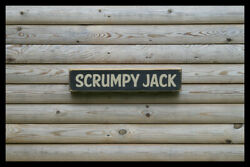 Scrumpy Jack Home Bar Vintage Style Signs Antique Man Cave Beer Home Brew