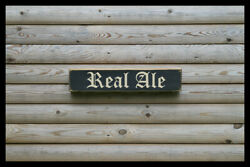 Real Ale Party Bar Vintage Style Signs Antique Man Cave Beer Home Brew