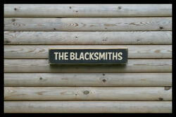 The Blacksmiths Home Bar Vintage Style Signs Antique Man Cave Beer Home Brew