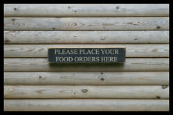 Please Place Your Food Bar Vintage Style Signs Antique Man Cave Beer Home Brew