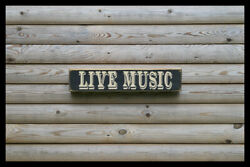 Live Music Party Bar Vintage Style Signs Antique Man Cave Beer Home Brew