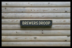Brewers Droop Home Bar Vintage Style Signs Old Antique Man Cave Beer Home Brew