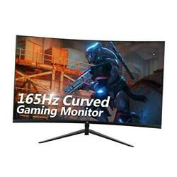 Z-edge Ug24 24-inch Curved Gaming Monitor 165hz Refresh Rate, 1ms Mprt, Fhd