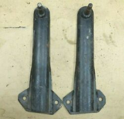 1942 1947 Ford Truck Front Tube Shock Mounts Original Vintage Accessory Pair