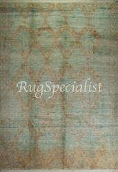 Contemporary Moroccan Azilal Rug 100 Wool Carpet