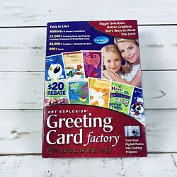 Greeting Card Factory Deluxe Version 6 Windows Photo Editing Software