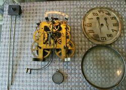 Vintage/ Antique Ingraham Clock Movement From Old Mantel Clock Parts Andrepairs