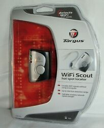 Targus Wifi Scout Hot Spot Locator New In Sealed Package.