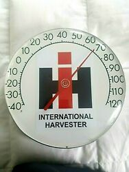 International Harvester Advertising Thermometer / Farming Tractor / 4 H