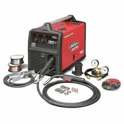 Lincoln Electric K2473-2 Mig Welder Power Mig 180c 1 208/240v Ac 30 To 180a