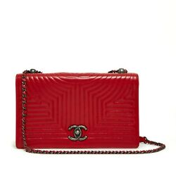 Bag Sac 2015 Red Special Quilt Leather Woc Wallet On Chain