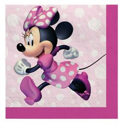 Minnie Mouse Forever Beverage Napkins 16
