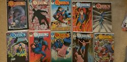 The Question 1987 Vf/nm 1 -36+ Annuals Quarterly Complete Set Lot Rorschach