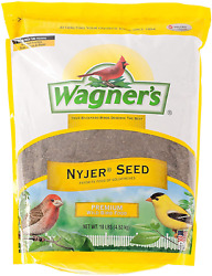 Wagner's 62050 Nyjer Seed Wild Bird Food, 10-pound Bag Finch Feeders Which Have