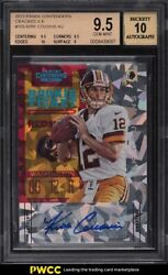 2012 Panini Contenders Cracked Ice Kirk Cousins Rookie Rc Auto /20 155 Bgs 9.5