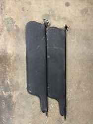 1973-1979 Ford Truck 78-79 Bronco Sunvisors Used