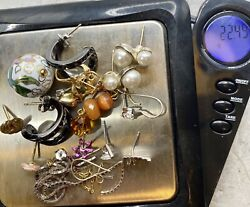 Vtg 22 Grams 14k 10k Gold Jewelry Lot Repair Scrap Recovery Craft Tested Sign Pc