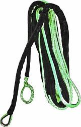 Open Trail Green 1/4 Diameter X 50 Ft. Synthetic Winch Rope 700-4150