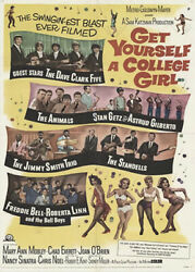 Get Yourself a College Girl 1964 starring Mary Ann Mobley and Chad Everett $14.99