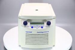 Eppendorf 5415r Refrigerated Centrifuge W/ Rotor / Lid 13200 Rpm R134a