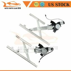 Window Regulator With Motor Front Left Right For 95-05 Chevy Cavalier 4d