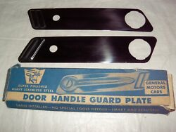1953 Chevrolet Buick Olds Pontiac Cadillac Nors Accessory Door Handle Guard Pair