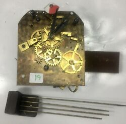Telechron Electric Clock Movement With Chime Rods