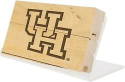 Houston Cougars 3 X 5.5 Hofheinz Pavilion Engraved Gu Basketball Court And Stand