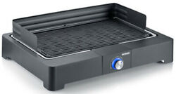 B-stock - Severin Pg8562 Table Grill With Barbecue Grid 2200 W Black Bbq Grill